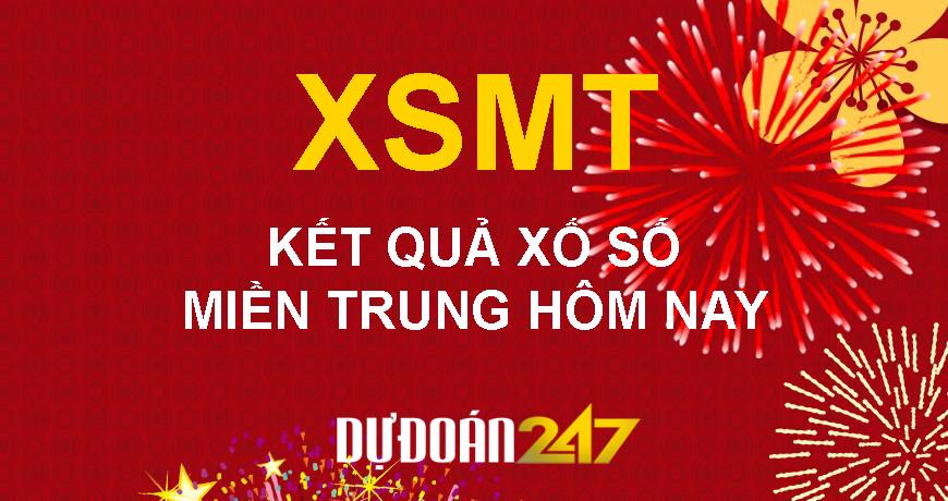 XSMT – KQ XSMT – Kết quả xổ số Miền Trung hôm nay